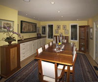 Cabinetry for dining room